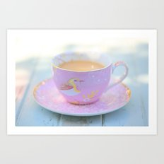Coffee Magic Art Print