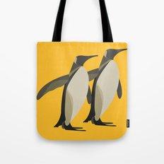 Penguins mate for life Tote Bag
