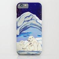 Peaceful Polar Bears iPhone 6 Slim Case
