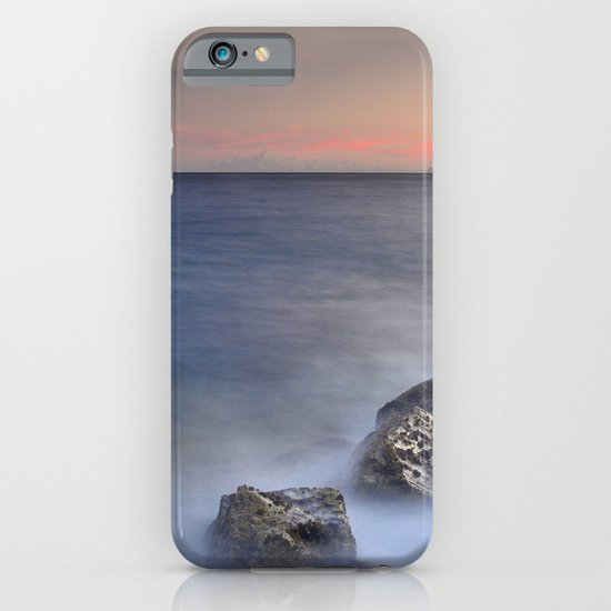 The struggle of the sea against the rocks iPhone & iPod Case