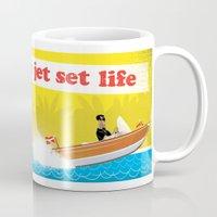 Live The Jet Set Life! Mug
