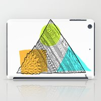 Triangle Doodle iPad Case