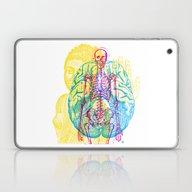 Brain Skeleton Laptop & iPad Skin