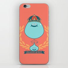 Dragon Quest Slime Monogram iPhone & iPod Skin