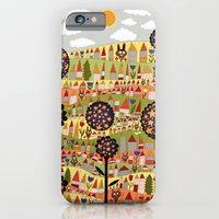 iPhone & iPod Case featuring starflowers by Asja Boros