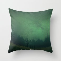 Familiar Faces  Throw Pillow