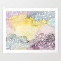 Dreaming in Lotus  Art Print