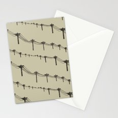 Metal Trees Stationery Cards