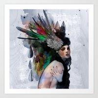 Mira Art Print