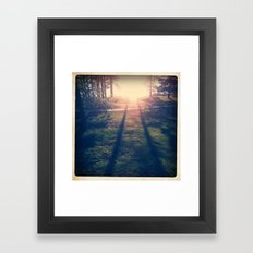 PARALELL Framed Art Print