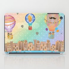 I {❤} Hot Air Balloon iPad Case
