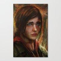 Ellie Canvas Print