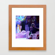 Slow Smooch Framed Art Print