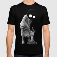 Gardener (black and white) Mens Fitted Tee Black SMALL