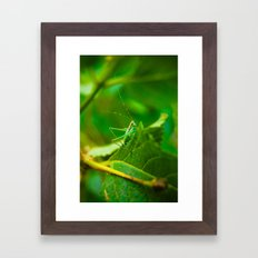 A Whole Different World Framed Art Print