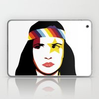 =Juliette Lewis///White= Laptop & iPad Skin