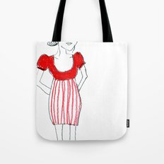 Adoro il rosso Tote Bag