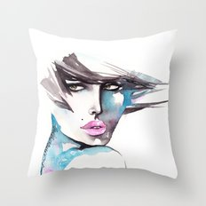 Wind of Change Throw Pillow