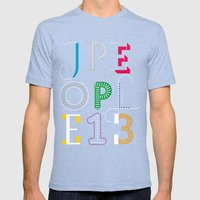 Jpeople Magazine 13 Mens Fitted Tee Tri-Blue SMALL