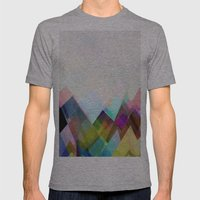 Graphic 104 Mens Fitted Tee Athletic Grey SMALL