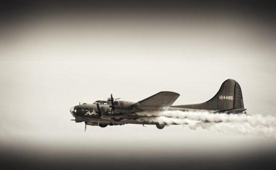 B-17 Flying Fortress, Sally B Art Print