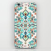 Modern Folk In Jewel Col… iPhone & iPod Skin