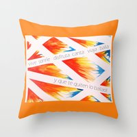 Que Te Quiten Lo Bailao! Throw Pillow