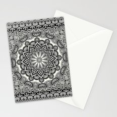 Orient Espresso Pattern Mandala Stationery Cards