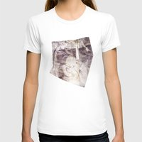 Your Time Is Over Womens Fitted Tee White SMALL