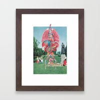 Church Organs Framed Art Print