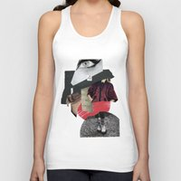 four eyes Unisex Tank Top