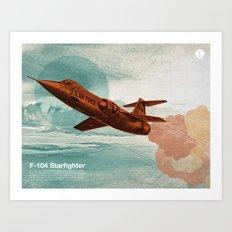 Starfighter Art Print