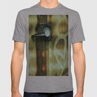 Handled Mens Fitted Tee Athletic Grey SMALL