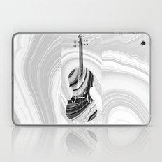 Marbled Music Art - Violin - Sharon Cummings Laptop & iPad Skin