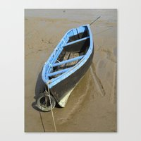 Stuck in the mud Canvas Print