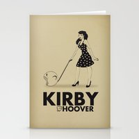Kirby Hoover Stationery Cards