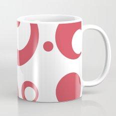 Circles Dots Bubbles :: Inverse Berry Blush Mug