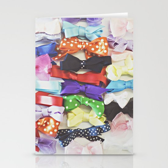 Bows Stationery Card