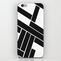 MAKES YOU GO AROUND iPhone & iPod Skin