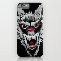 White Wolf  iPhone 6 Slim Case