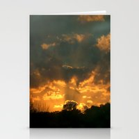 Cloud Interference  Stationery Cards