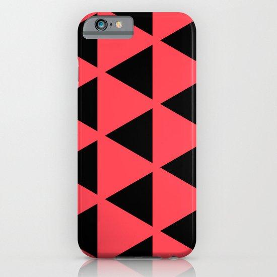 Sleyer Black on Pink Pattern iPhone & iPod Case