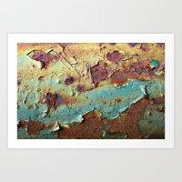'Rust' Art Print