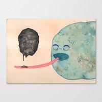 Slow Eater Canvas Print