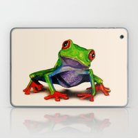 Mr. Ribbit Laptop & iPad Skin