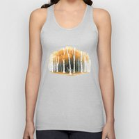 Autumn Wolf Unisex Tank Top