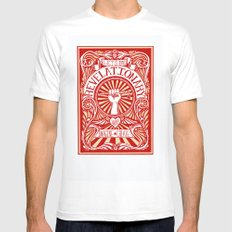 Revelationary SMALL White Mens Fitted Tee
