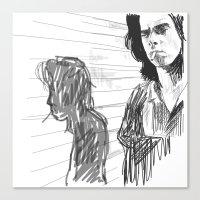 Nick Cave Canvas Print