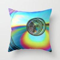 Turn Around Throw Pillow