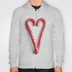 Candy Cane Heart Hoody